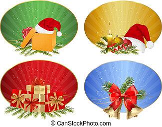 briefmarke winter weihnachten s tze vektor illustration. Black Bedroom Furniture Sets. Home Design Ideas