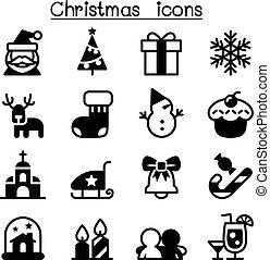 satz, weihnachten, ikone