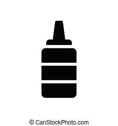 sauce  glyph flat icon