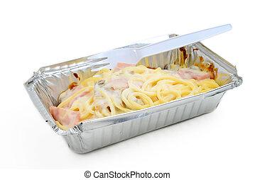 sauce spaghettis, crémeux