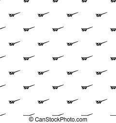 Saucepan pattern, simple style
