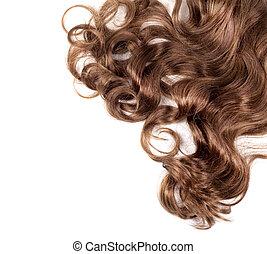 saudável, cabelo