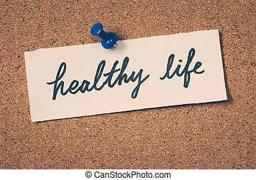 saudável, vida