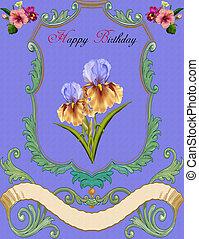 saudação, card-birthday
