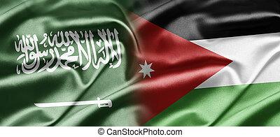 Saudi Arabia and Jordan