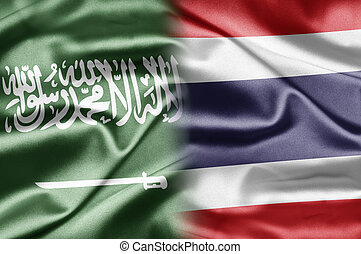 Saudi Arabia and Thailand