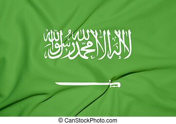 Saudi Arabia flag background