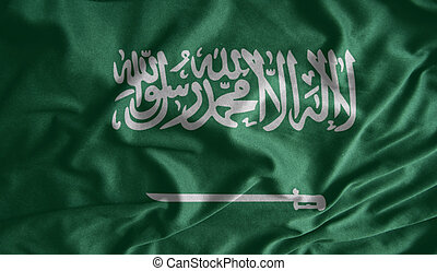 Saudi Arabia flag fabrics