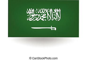 Saudi Arabia Flag - Official flag of Saudi Arabia.