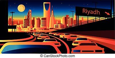 Saudi Arabia skyline