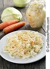 Sauerkraut (marinated cabbage)