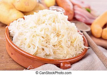 sauerkraut, og, ingrediens