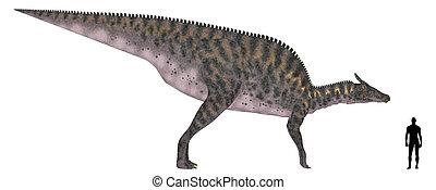 Saurolophus Size Comparison