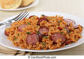 Sausage and Rice Dinner