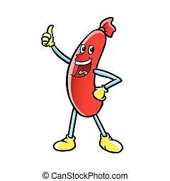 sausage character