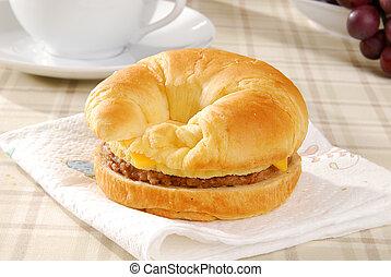 Sausage croissant