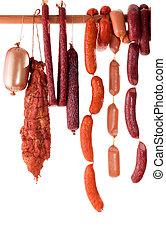 sausage, hängender