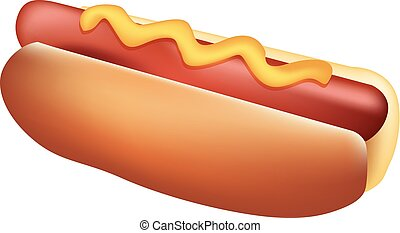 Sausage in a roll - Hot Dog