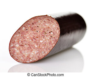 sausage with spices