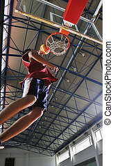 saut, basket-ball