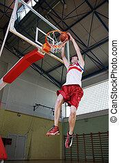 saut, basket-ball