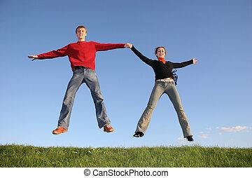saut, couple