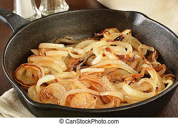 Sauteed onions