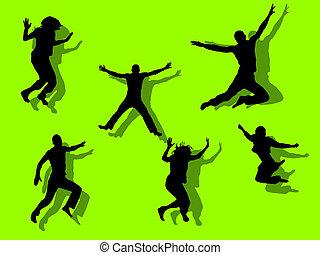 sauter, adolescent
