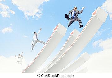 sauter, businesspeople