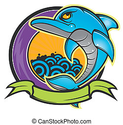 sauter, dauphin