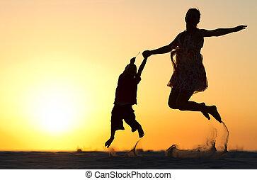 sauter, famille