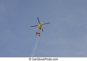 sauvegarde tir, hélicoptère