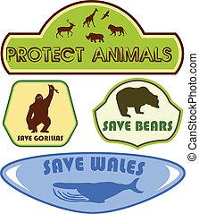sauver, animaux