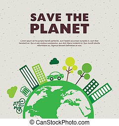 sauver, les, planète