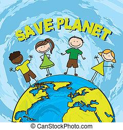 sauver, planète