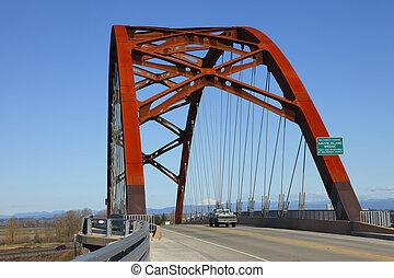 sauvie, ö, bridge.
