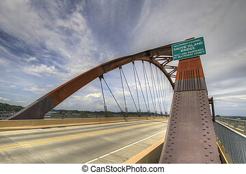 sauvie, νησί , γέφυρα , 3