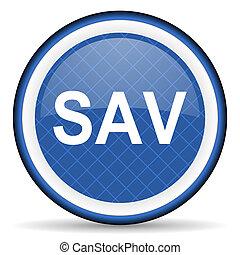 sav blue icon