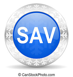 sav christmas icon