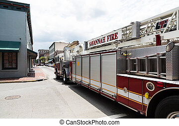 Savannah Fire Truck