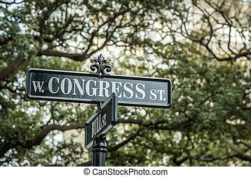 Congress and Bull Street