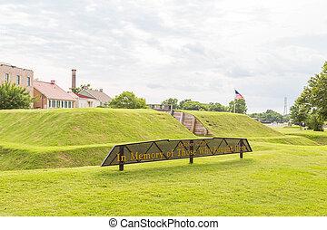 Savannah Revolutionary War Memorial - A Revolutionary War...