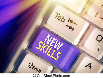 savant, capacités, concept, business, texte, mot, nouveau, ...