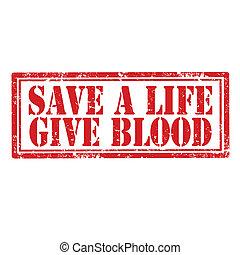 Save A Life-stamp
