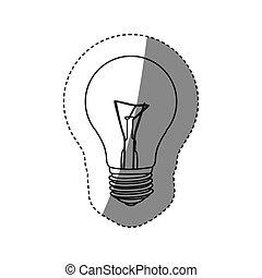 save bulb icon image