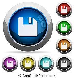 Save document button set
