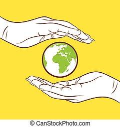 save earth concept design