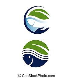 save earth nature environmental conservation logo design vector illustration