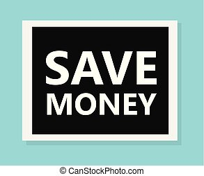 save money concpet