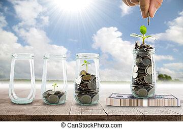 Save money for prepare in the future.